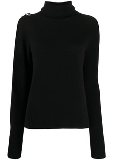 Christopher Kane padlock sleeve slit jumper