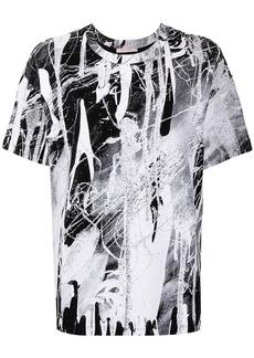 Christopher Kane paint splatter T-shirt