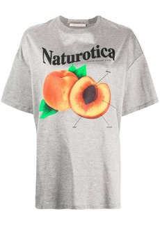 Christopher Kane peach print T-shirt