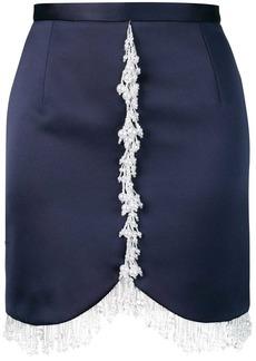 Christopher Kane pearl embellished mini skirt