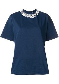 Christopher Kane pearl embellished T-shirt