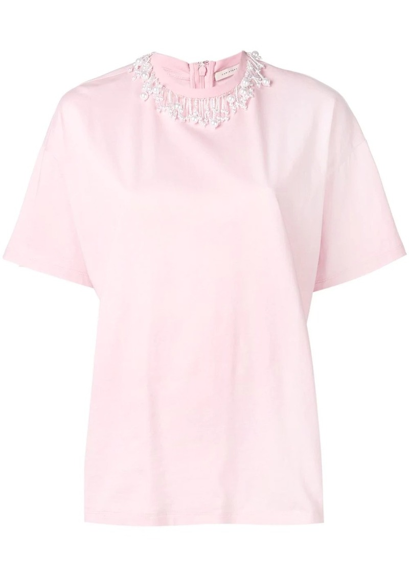 Christopher Kane pearl t-shirt