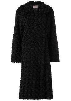 Christopher Kane reversible faux fur coat
