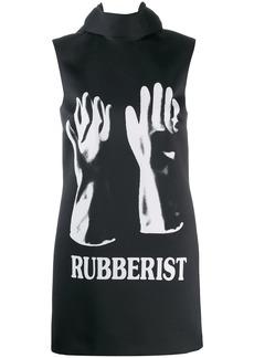 Christopher Kane Rubberist' mini dress