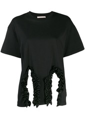 Christopher Kane ruffle trim T-shirt