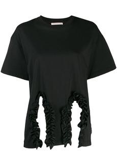Christopher Kane ruffle trim T-shirt