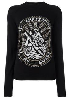 Christopher Kane Saint Christopher sweater