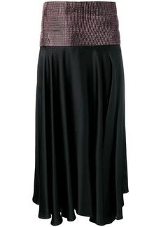 Christopher Kane satin crystal skirt