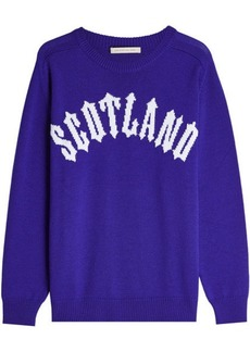 Christopher Kane Scotland Pullover in Virgin Wool