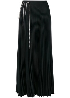 Christopher Kane squiggle cupchain pleated skirt