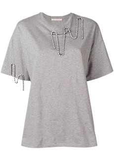Christopher Kane squiggle cupchain t-shirt