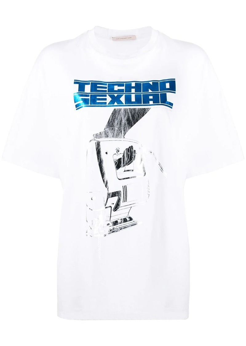 Christopher Kane Techno Sexual print T-shirt