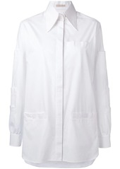 Christopher Kane touch strap shirt