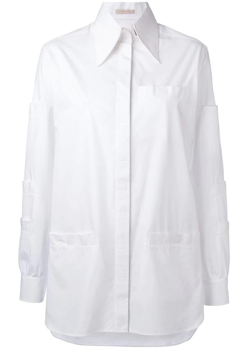 Christopher Kane Velcro shirt