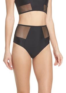 Chromat Contour High Waist Bikini Bottoms
