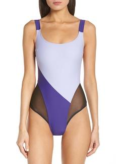 Chromat Delta x Duotone One-Piece Swimsuit