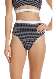 Chromat Drew High Waist Bikini Bottoms
