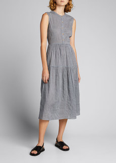 Ciao Lucia Freya Gingham Midi Dress