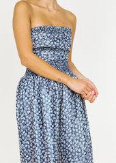 Ciao Lucia Gia Strapless Lurex Dress