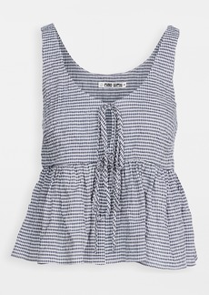 Ciao Lucia Gingham Rocco Top
