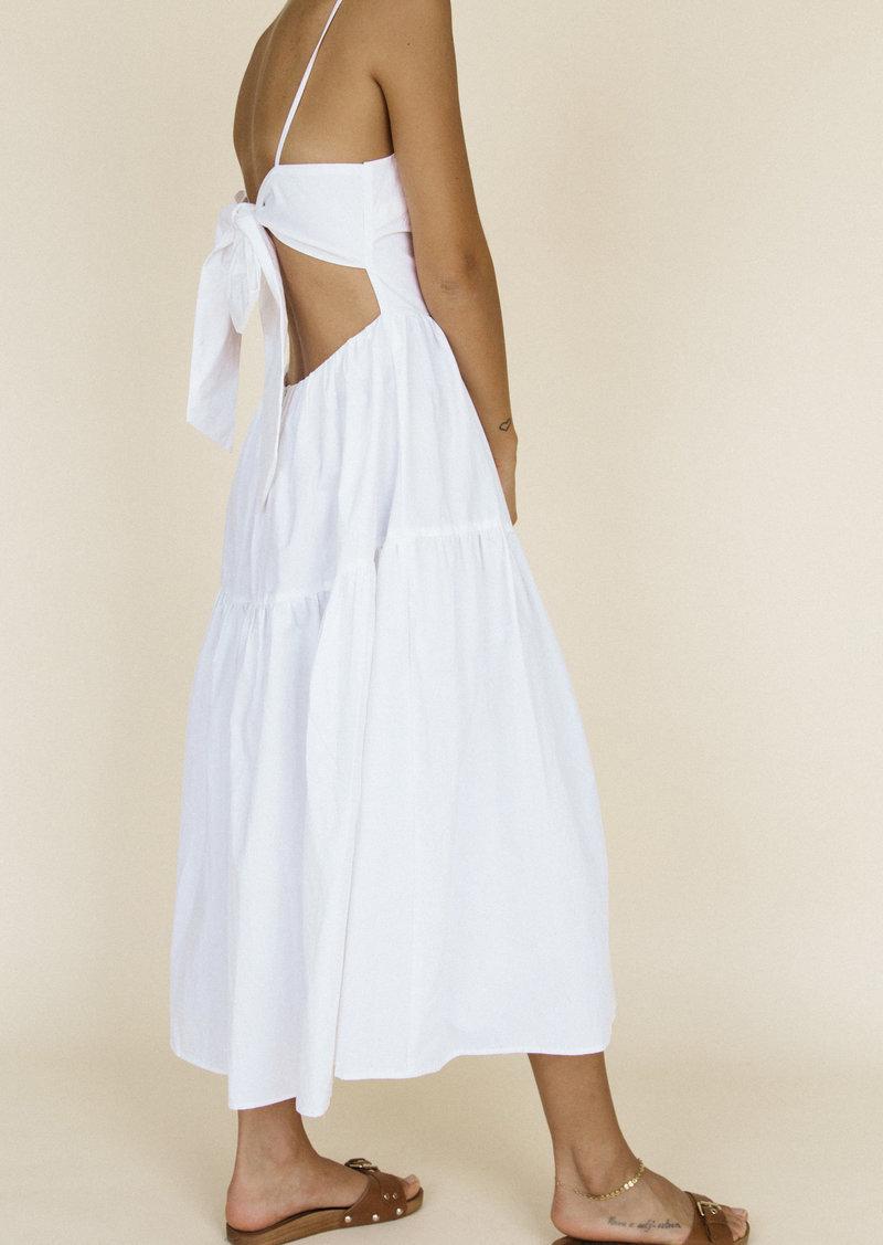 Ciao Lucia Gioia Open-Back Cotton Tank Dress