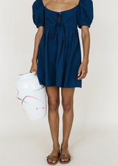 Ciao Lucia Ischia Babydoll Mini Dress