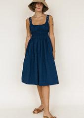 Ciao Lucia Lara Smocked Midi Dress