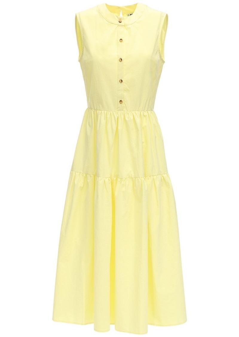 Ciao Lucia Freya Cotton Poplin Midi Dress
