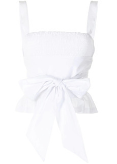 Ciao Lucia tie-waist top