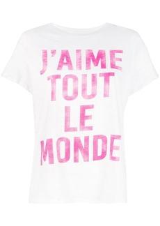 Cinq a Sept J'aime Tout Le Monde T-shirt