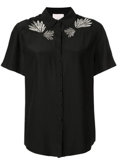 Cinq a Sept embroidered Bridget top