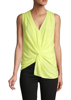 Cinq a Sept Abby Sleeveless Twist Front Top