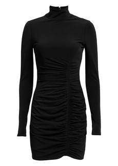 Cinq a Sept Alina Turtleneck Mini Dress