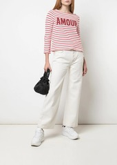 Cinq a Sept Amour breton stripe top