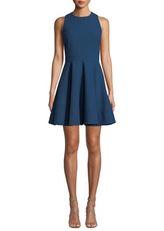 Cinq a Sept Araceli Scoop-Neck Sleeveless Short Dress