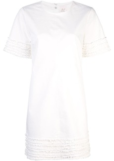 Cinq a Sept Ashton frayed-trim dress