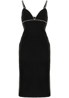 Cinq a Sept Beth rhinestone-embellished midi dress