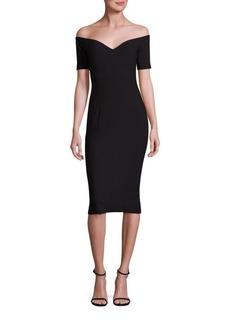 Cinq a Sept Birch Off-The-Shoulder Dress