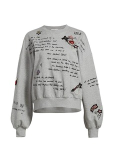 Cinq a Sept Brandy Love Letter Sweatshirt