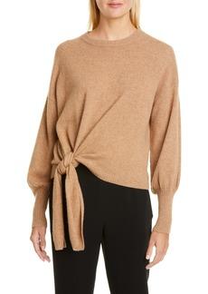 Cinq a Sept Cinq à Sept Clerisa Tie Waist Cashmere Sweater