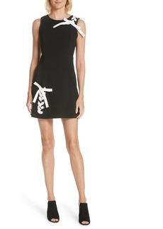 Cinq a Sept Cinq à Sept Izella Ribbon Detail Dress