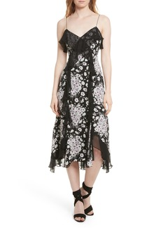 Cinq a Sept Cinq à Sept Joelle Ruffle Silk Dress