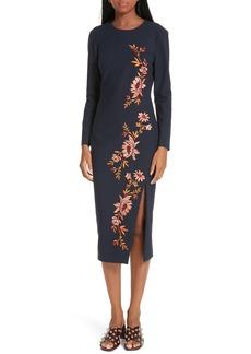 Cinq a Sept Cinq à Sept Lexi Embroidered Dress