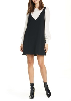 Cinq a Sept Cinq à Sept Mercer Layered Long Sleeve Dress