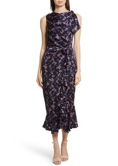 Cinq a Sept Cinq à Sept Nanon Knotted Silk Dress