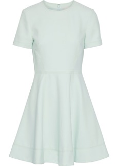 Cinq a Sept Cinq À Sept Woman Bryce Flared Cady Mini Dress Mint