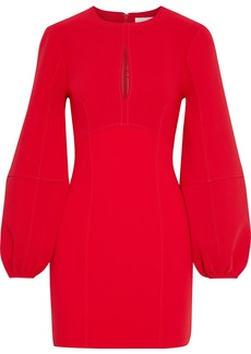 Cinq a Sept Cinq À Sept Woman Danica Cutout Crepe Mini Dress Red
