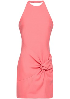 Cinq a Sept Cinq À Sept Woman Myla Twisted Jersey Mini Dress Peach