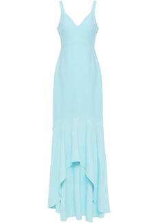 Cinq a Sept Cinq À Sept Woman Sade Fluted Jersey Gown Light Blue