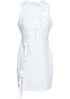 Cinq a Sept Cinq À Sept Woman Vita Bow-embellished Cutout Cady Mini Dress White